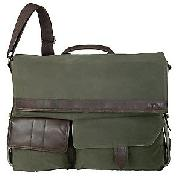 Antler Terrain Despatch Bag, Khaki, 39cm