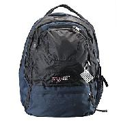 Jansport Air Cure Back Pack, Navy