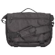 John Lewis Small Messenger Bag, Black