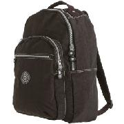 Kipling Seoul Backpack, Black, Large