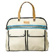 Orla Kiely Small Weekend Bag, Cream
