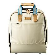 Orla Kiely Small Wheeled Bag, Cream