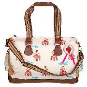 Pink Lining For John Lewis Birds and Bees Yummy Mummy Overnight Bag
