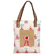 Pink Lining For John Lewis Birds and Bees Yummy Mummy Tote Bag
