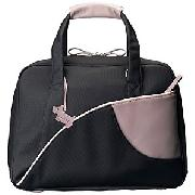 Radley Business Bag, Black and Plum
