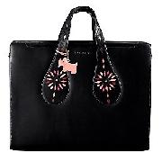 Radley Kaleidoscope Laptop Bag, Black