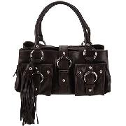 Ri2k Bridgitte Shoulder Bag, Chocolate
