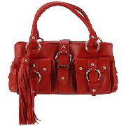 Ri2k Bridgitte Shoulder Bag, Red