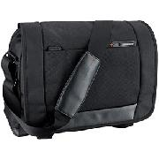 Samsonite Pro-Dlx Laptop Messenger Bag, Black, 41cm