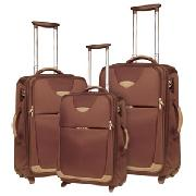 Samsonite Streamline Mpc Trolley Cases, Brown