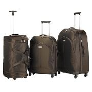 Samsonite X'lon Expanding Trolley Cases and Duffle Bags, Chocolate