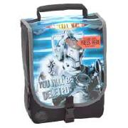 Doctor Who Cyberman Flashing Lights Lunch Bag