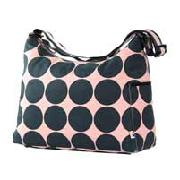 Oioi Hobo Changing Bag In Pink