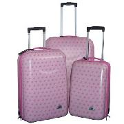 3-Piece Polycarb Luggage Set