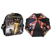 """Doctor Who"" Backpack Gift Set"