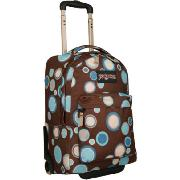 Jansport Wheeled Superbreak Backpack Chocolate Chip Bubbles