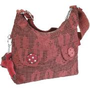Kipling Basso Tweed Bunny Small Shoulder Bag