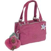 Kipling Pimmy - Multi Pocket Handbag with Removable Shoulder Strap