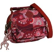 Kipling Puck (Fire Work Red) - Handbag Convertible To Backpack