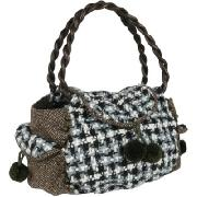 Nica Daffy Wooly Pom Pom Shoulder Bag