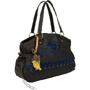 Nica Jessie Embroidered Stud Detail Tote Bag