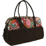 Oioi Pink Floral Bouquet Carry All