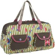 Pink Lining Gym/Overnight Bag (Butterfly)