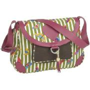 Pink Lining Small Nappy Bag (Butterfly)