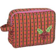 Pink Lining Wash Bag (Heart)