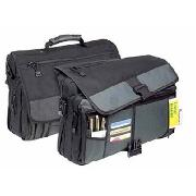 U.S. Luggage Expandable Polyester Messenger Bag