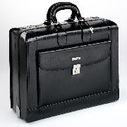 Enzo Rossi Italian Leather Cabin Case