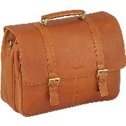 Enzo Rossi New Correspondence Briefcase In Italian New Correspondent Leather