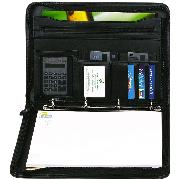 Falcon A4 Zipped Folio with Ring Binder