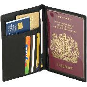 Falcon Genuine Leather Passport Wallet