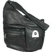 Renato Angi Genuine Leather Shoulder Bag