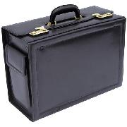 Quindici Bonded Leather Pilot Case