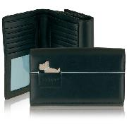 Radley Piped Dog In Pocket Wallet Piped Dog In Pocket Flapover Wallet Purse