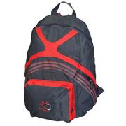 Adidas F50 Back Pack - Dark Shale/Red