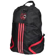 Adidas Predator Back Pack - Black/Red/White
