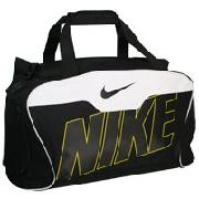 Nike Tiempo Sport Duffel Bag - Black/White