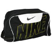 Nike Tiempo Sport Shoe Bag - Black/White