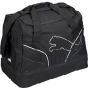 Puma V5 06 Football Bag - Black/Silver