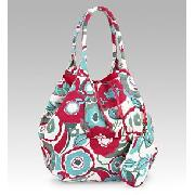 70'S Floral Tote Bag and Purse