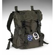 Older Boys' Khaki Badge Rucksack
