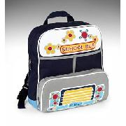 Younger Boys' 'School Bus' Backpack