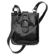 Debenhams Collection - Black Buckle Cross Body Bag