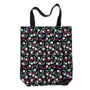 Pineapple - Black Cherry Print Bag