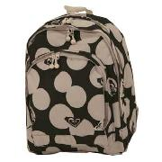 Roxy - Black/Cream Spots Fash Out Backpack