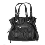 John by John Richmond - Black Drawstring Shoulder Bag