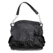 John by John Richmond - Black Large Slouch Bag